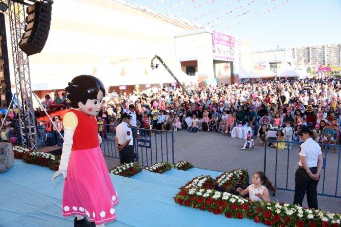 Konya çocuk festivali başladı