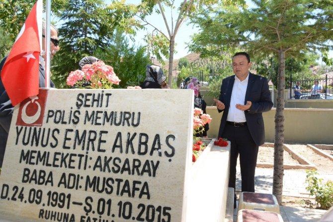 Aksaray'da 15 Temmuz kanlı darbe girişimi anma etkinlikleri