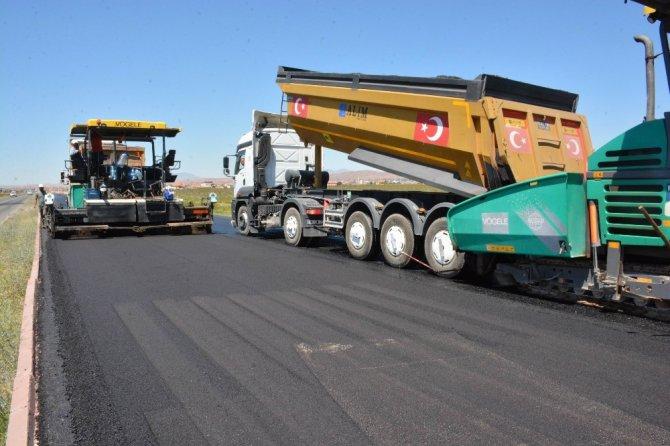Aksaray'da OSB yolu açılışa hazırlanıyor