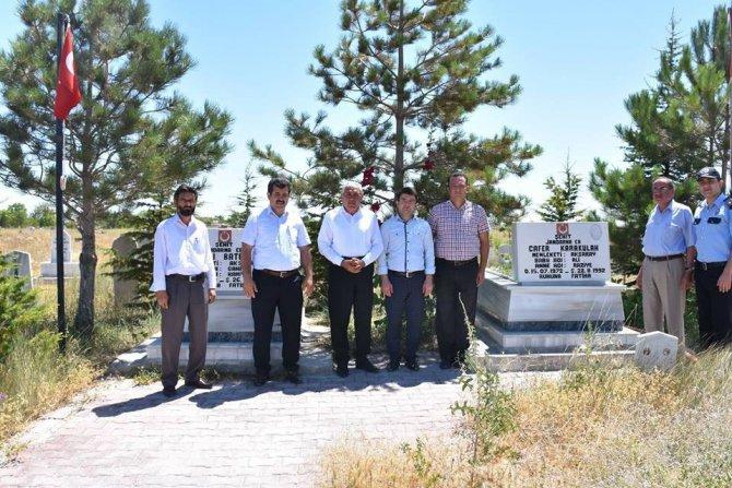 Eskil'de 15 Temmuz şehitlerini anma programı