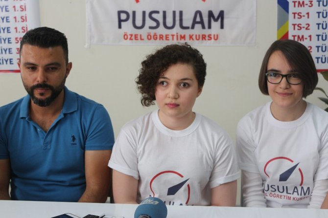Görme engelli genç kız LYS'de 5 puan türünde Türkiye birincisi oldu