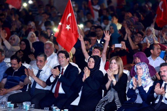 15 Temmuz Aksaray Milli İrade Meydanında anıldı