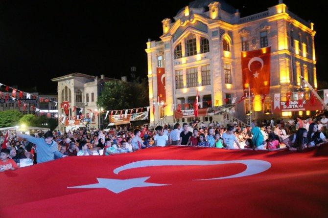 Aksaray'da 15 Temmuz etkinlikleri sürüyor