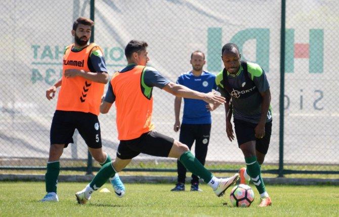 Konyaspor'un Erzurum kampı sona erdi