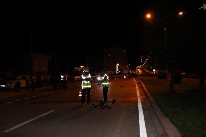 Otomobilin çarptığı 16 yaşındaki bisikletli genç hayatını kaybetti
