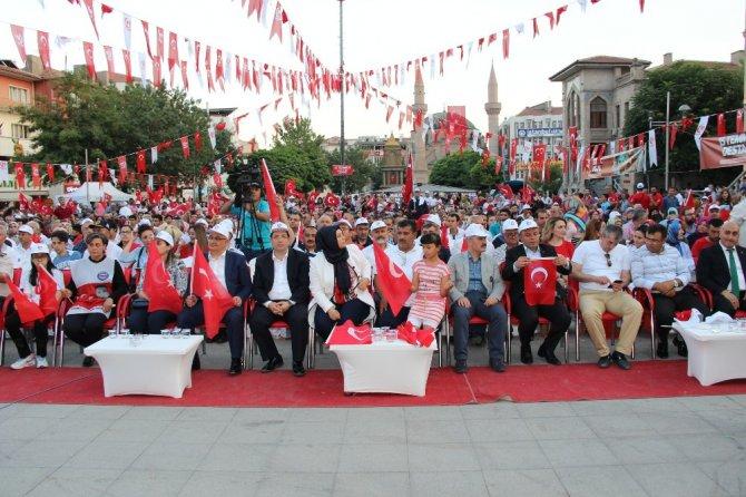 Aksaray'da 15 Temmuz destanı