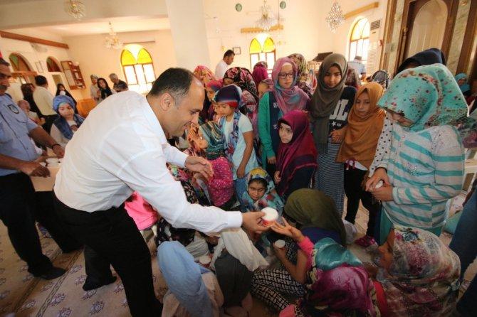 Başkan Özaltun, Kur'an Kursu öğrencileriyle buluştu