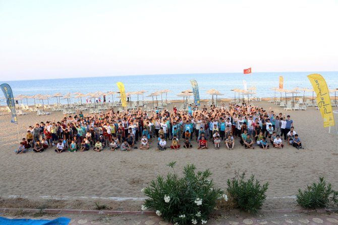 Yaz Okulu öğrencileri Silifke kampını verimli geçirdi