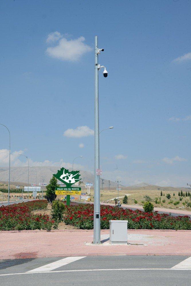 Konya'da hafriyat kamyonları kameralarla takip ediliyor