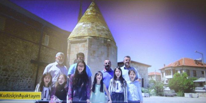 Başkan Özaltun'un Kudüs çağrısına Beyşehirliler'den destek