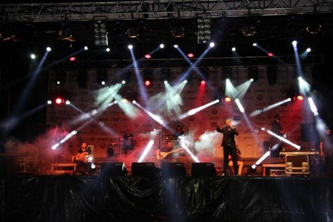 Kalkınma Şöleni'nde Oğuz Yılmaz konseri