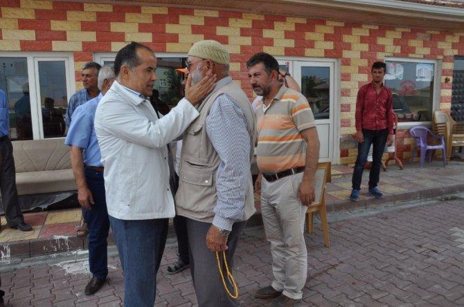 Milletvekili Aydoğdu ilçe ve köylerde incelemelerde bulundu