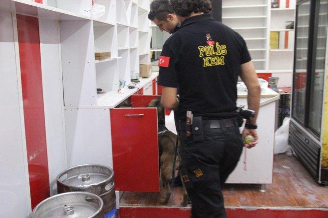 Konya'da eğlence mekanlarına baskın: 5 gözaltı