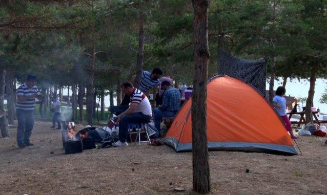 Sille Baraj Parkı'na iki günde 40 bin ziyaretçi