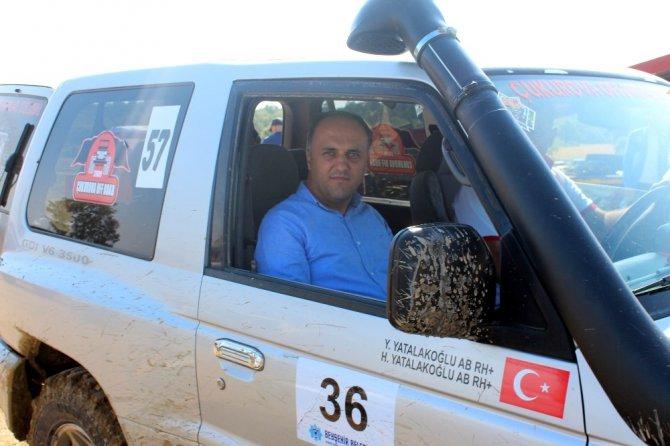 Beyşehir'de nefes kesen off-road yarışları