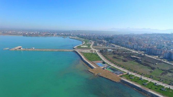 Beyşehir'deki Vuslat Park'ta büyük değişim