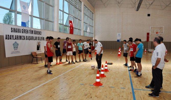 NEÜ Beden Eğitimi ve Spor Bölümü bu yıl ilk kez öğrenci alıyor