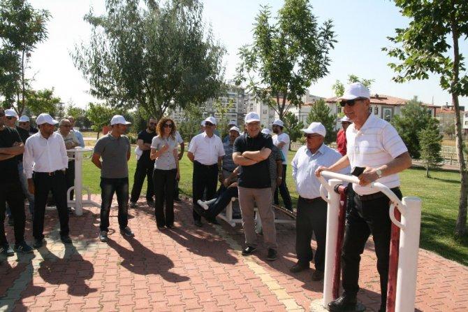 Kulu'da sağlık yürüyüşü düzenlendi
