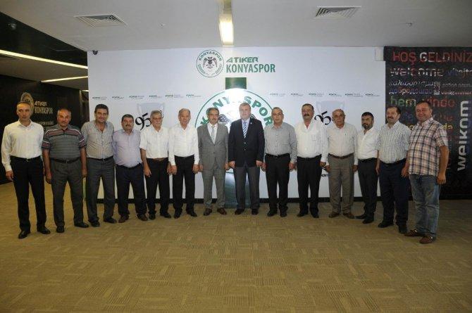 Rektör Şahin'den, Başkan Şan'a tebrik ziyareti