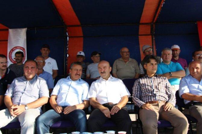 Trap ve tek kurşun atışları Seydişehir'de yapıldı