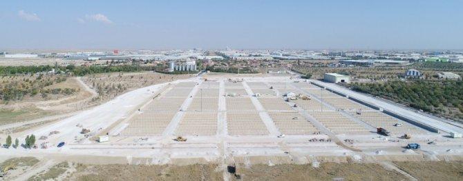 Konya'nın en büyük ve modern kurban pazarı Selçuklu'da yapılıyor