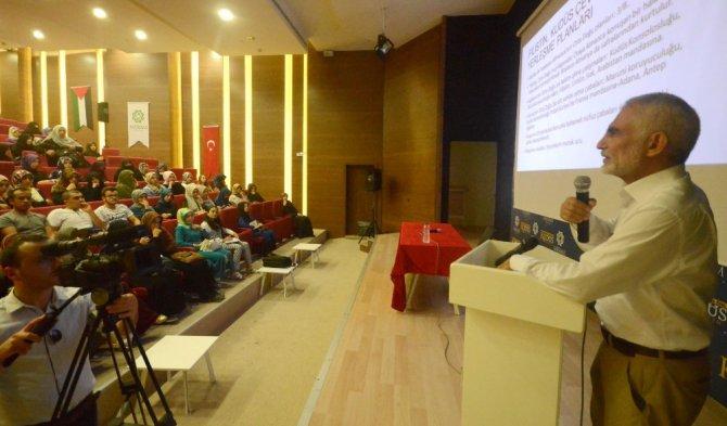 Kudüs Akademi'nin konuğu Prof. Dr. Arabacı oldu