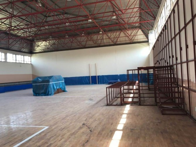 Konya'da, 527 sanıklı FETÖ davası için spor salonu hazırlanıyor