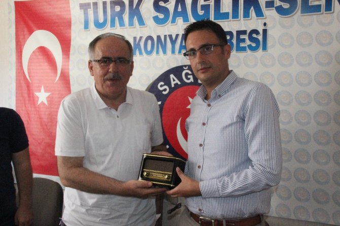 Mustafa Kalaycı'dan Türk Sağlık-Sen'e destek