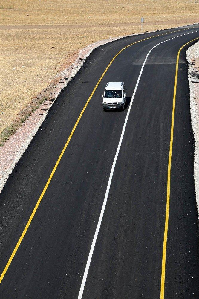 Aksaray'da 2 kilometrelik yeni TOKİ yolu hizmete açıldı