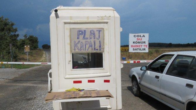 Beyşehir'de yaşlı görevlinin darp edilmesi, plaj kapattırdı