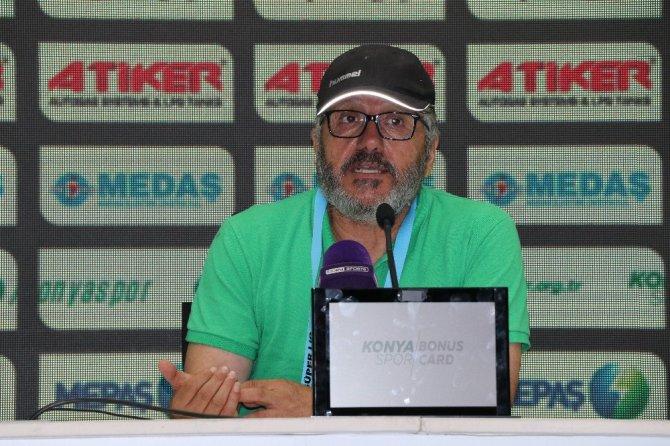 Atiker Konyaspor-Gençlerbirliği maçının ardından