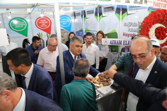 Ereğli tarım ve hayvancılık fuarı açıldı