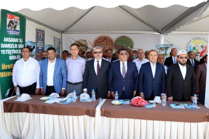 Aksaray'da Hayvancılık ve Canlı Hayvan Irkları Fuarı açıldı