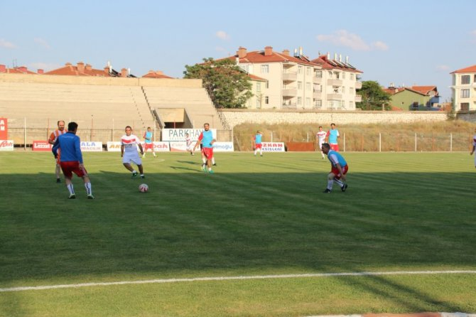 Akşehir Onur Günü'nde tarihi maç yeniden canlandırıldı