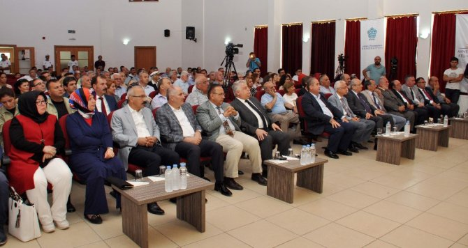 Ahmet Keleşoğlu panelle anıldı