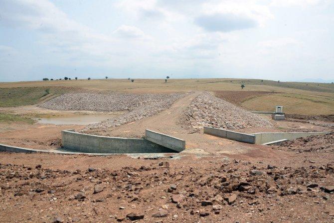 Konya Büyükşehir Belediyesinin sulama göleti yatırımları sürüyor