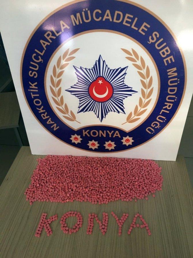 Elindeki cips paketinden 2 bin 800 uyuşturucu hap çıktı
