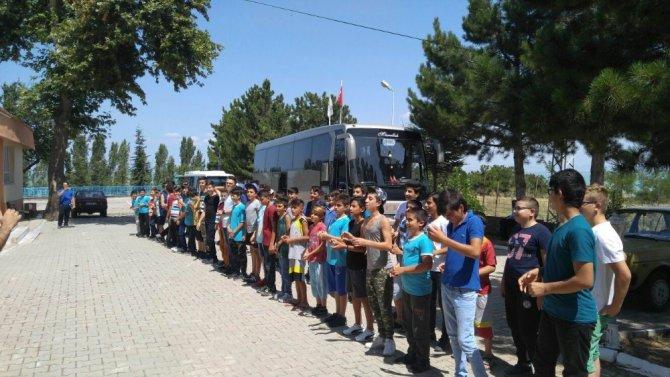 Seydişehir Belediyesi Gençlik Kampı sona erdi