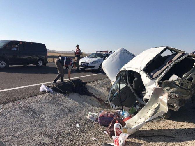 Aksaray'da trafik kazası: 1 ölü, 3 yaralı