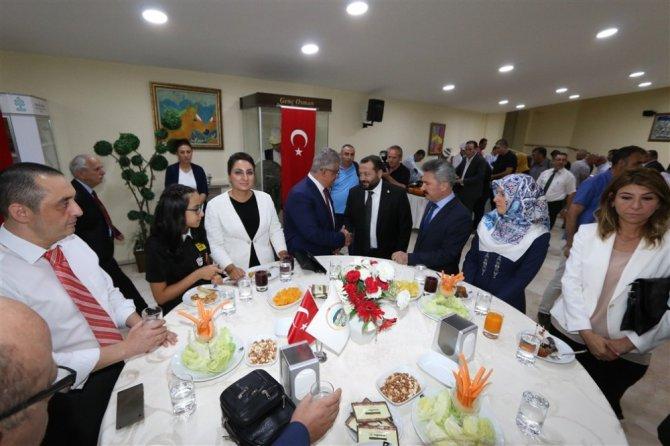 Aksaray'da 30 Ağustos resepsiyonu