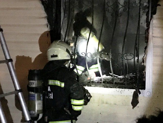Konya'da anaokulunda yangın