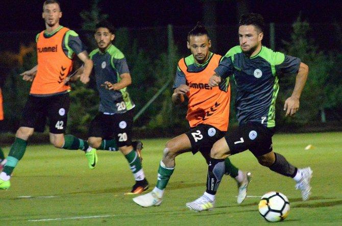 Atiker Konyaspor, Alanyaspor maçı hazırlıklarına başladı
