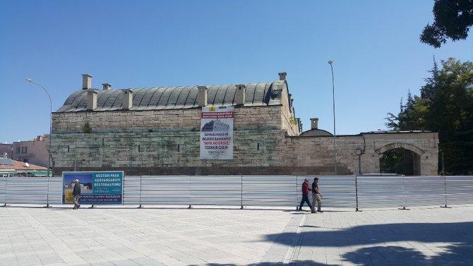Ereğli Rüstem Paşa Kervansarayı restore ediliyor