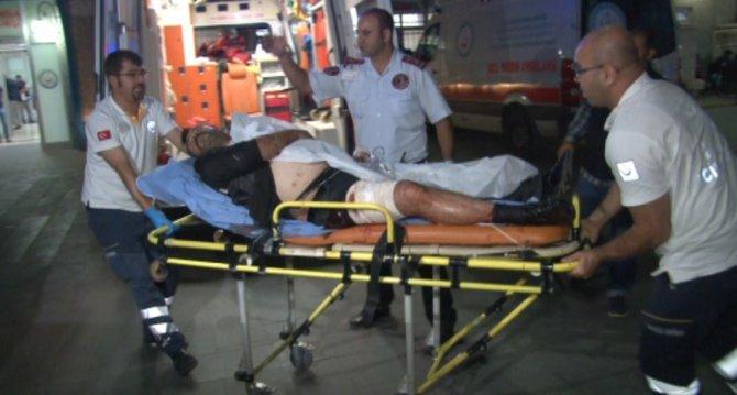 Konya'da bıçaklı kavga: 1 yaralı