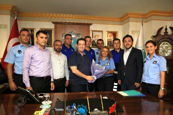 Aksaray'da Zabıta Teşkilatının 191. kuruluş yıldönümü kutlandı