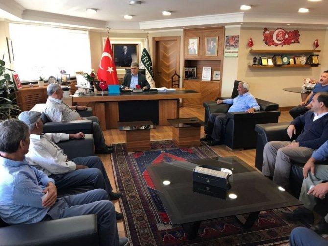 Ereğli'de vatandaş derdini doğrudan başkana anlatıyor