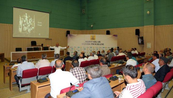 Konya'da muhtarlara yönelik eğitim seminerleri başladı