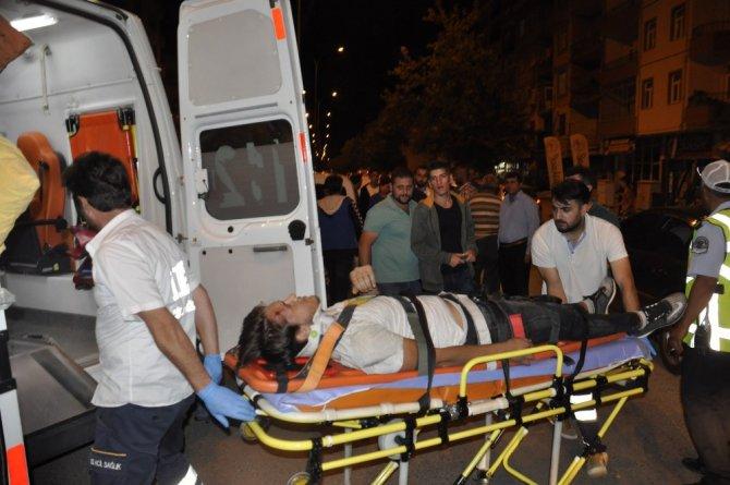 Otomobil bisiklete çarptı: 1 yaralı