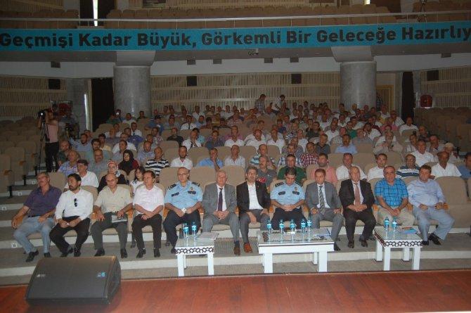 Konya'da öğrencileri taşıma güvenliği toplantısı gerçekleştirildi