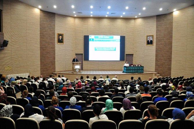 Meram Tıp Fakültesi Hastanesi personeli sepsis konusunda bilgilendirildi